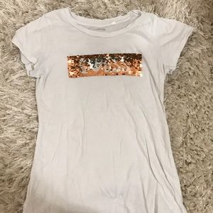 Guess kids reversible sequence top